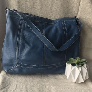 Sophia Caperelli Leather Hobo